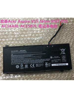 Replacement Acer V15 Nitro VN7-591 AC14A8L AC15B7L laptop battery