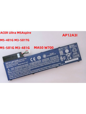 AP12A3i Replacement Battery For Acer Aspire M3-481 M3-581T Ultrabook Laptop
