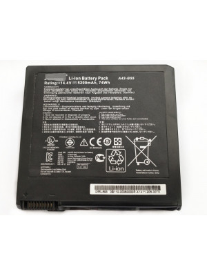 Replacement Asus G55 G55V Series G55VW-ES71 A42-G55 74Wh Laptop Battery