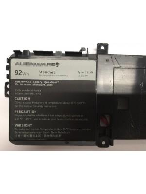 TYPE 191YN 2F3W1 Genuine Battery for Dell Alienware 15 R1 92Wh