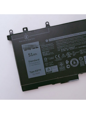 Dell 93FTF Latitude E5280 5280 E5480 E5580 51Wh laptop battery