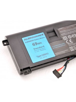 Genuine DELL Alienware A14 14D ALW14D-4828 M14X R3 R4 G05YJ Battery